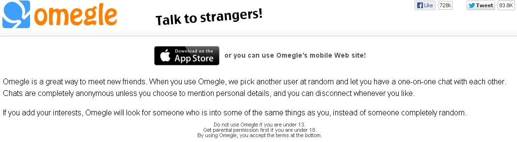 OMEGLE…SURE, INVITE THE STRANGER IN | Proactive Technology Tips